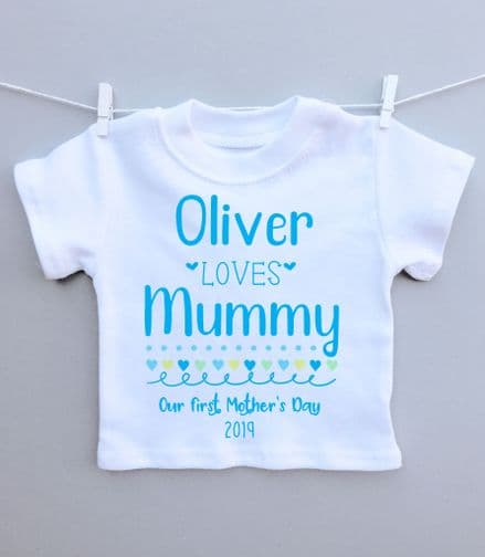 Mother's Day loves Mummy t-shirt