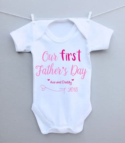 Our first Father's Day bodysuit