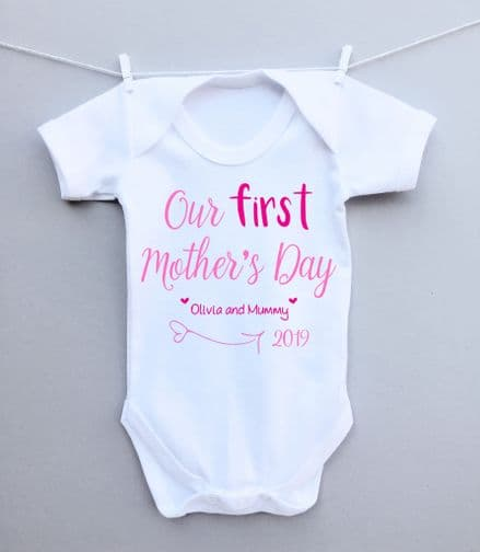 Our first Mother's Day bodysuit