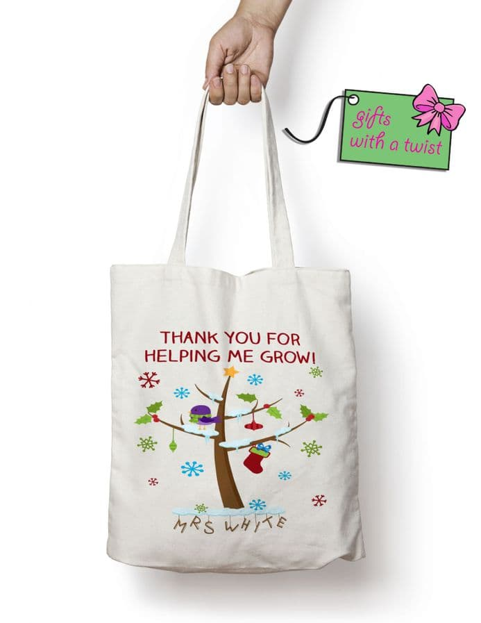 Thank you for helping me grow winter bag