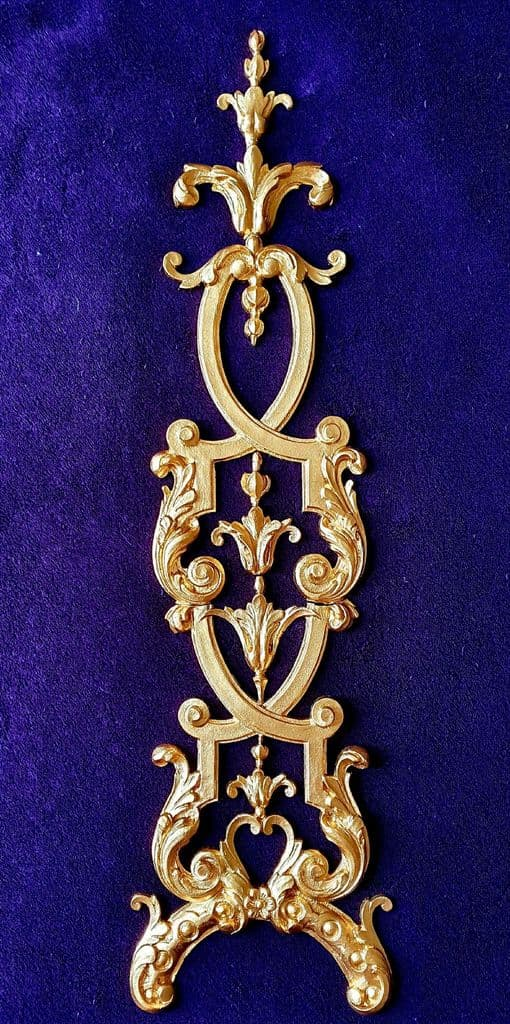 DECORATIVE MOULDING LOUIS XV STYLE WALL FURNITURE DECORATION (No139)