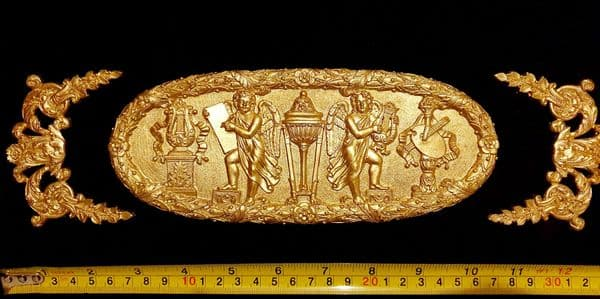 ORNATE ANTIQUE STYLE WALL MIRROR MOULDING DECORATION (No83)
