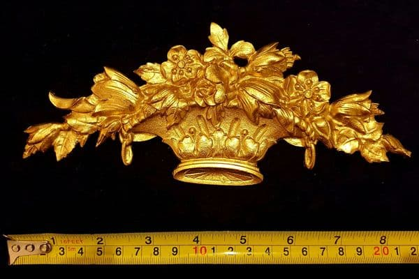 ORNATE ANTIQUE STYLE WALL MIRROR MOULDING DECORATION (No106)