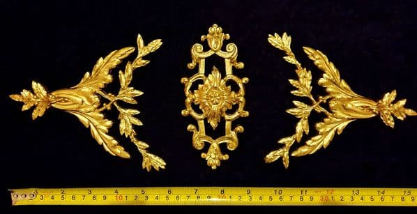ORNATE ANTIQUE STYLE WALL MIRROR MOULDING DECORATION (No111)
