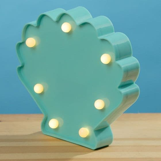 Clam Shell Mermaid LED Light