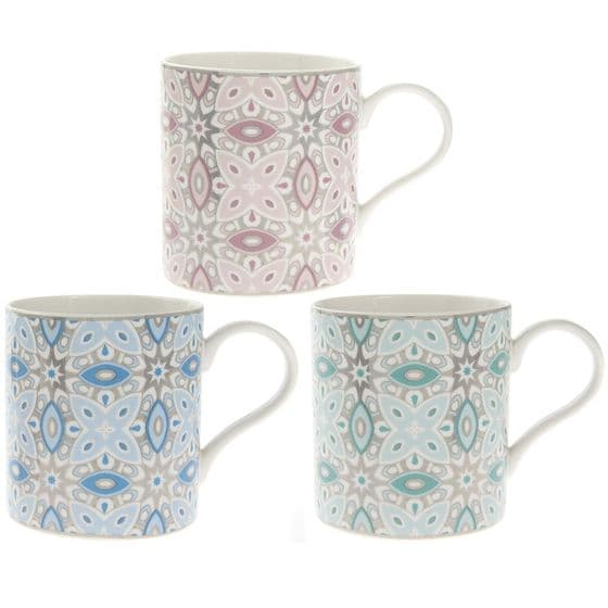 Pink Marrakech Bone China Tea | Coffee Mug