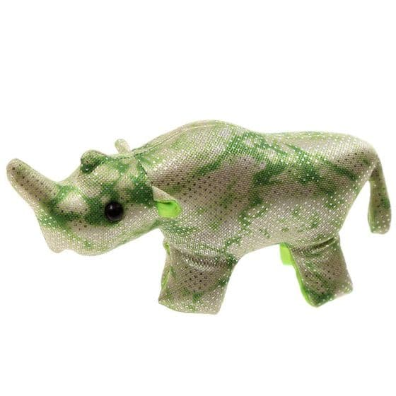 RHINO Sand Animal Decorative Paperweight