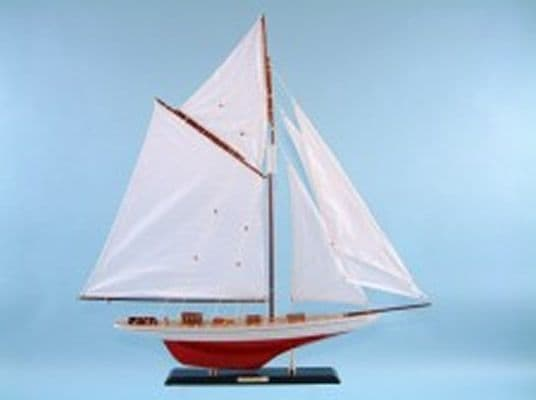 Sailing Yacht ''Vigilant'' Wooden Ship Collectors Piece