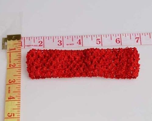 """Red 1.5"""" X 6"""""""