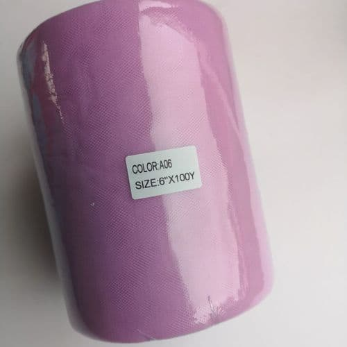 Soft Tulle |  Lilac  A 06  | Nylon 100 Y