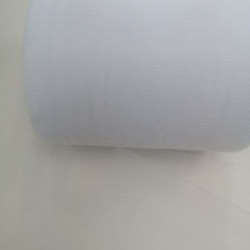 Tulle Roll | A01 White | Polyester