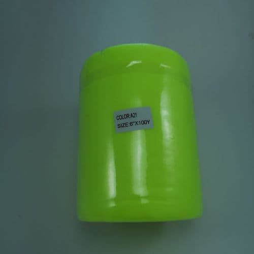 Tulle Roll |  A21 Neon Green | Polyester