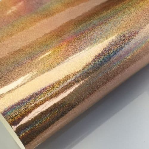 Holographic Champagne | Leatherette