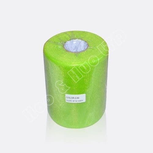 Lime green Nylon Tulle 100 Y