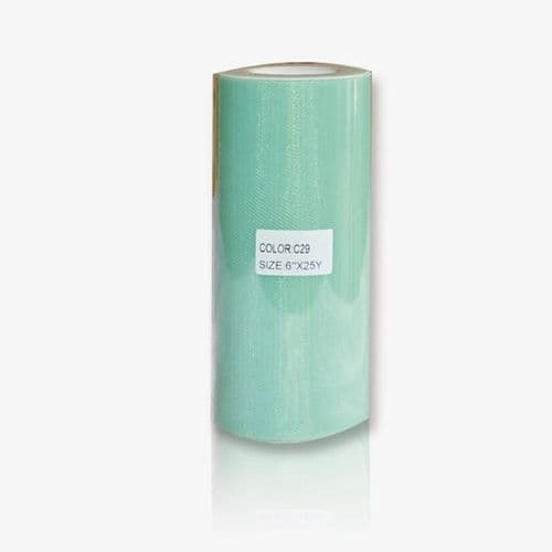 """Plain Soft Tulle 6"""" x 25 Y From £0.84 per roll"""