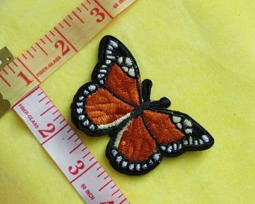 Sew On| iron on |Applique Motif  | Butterfly B 03