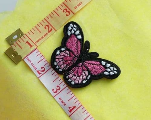 Sew On| iron on |Applique Motif  | Butterfly B 08