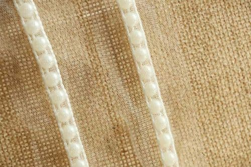 Tulle With pearl ribbon 40 mm