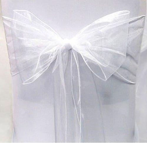White | Tie A Pack 10