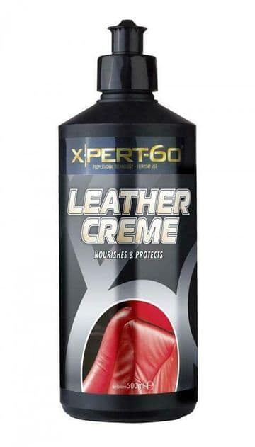 XPERT-60 LEATHER SUPPLEMENT CREME, Nourishes & Protects - 500ml