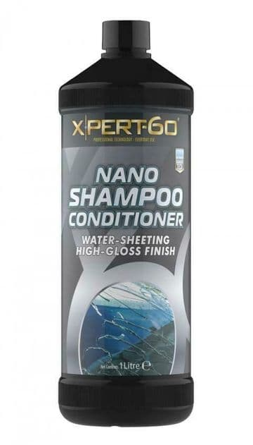 XPERT-60 NANO SHAMPOO, PH Neutral - Does not remove Wax Layers - 1000ml