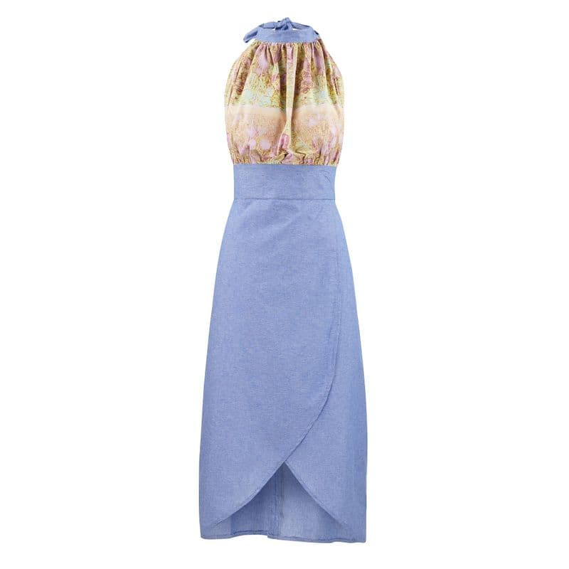 Liberty Dress in cotton chambray