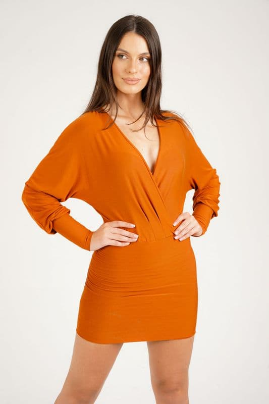 Lily Bamboo jersey mini dress /top