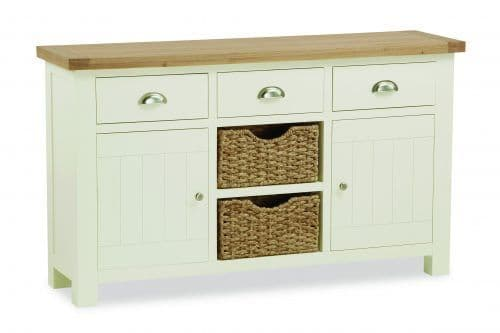 Country Large Sideboard with Baskets