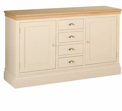 Linton 4 Drawer Painted sideboard