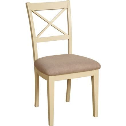 Linton Range Cross Back Painted Dining Chair