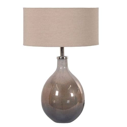Oyster Lamp with Shade