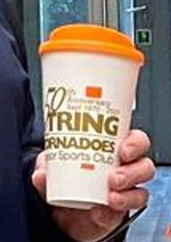 Tornadoes 50th - Reusable Hot Drinks Cup