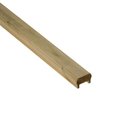 Universal Decking Handrail/Baserail (Inc Fillet) 2.4 m