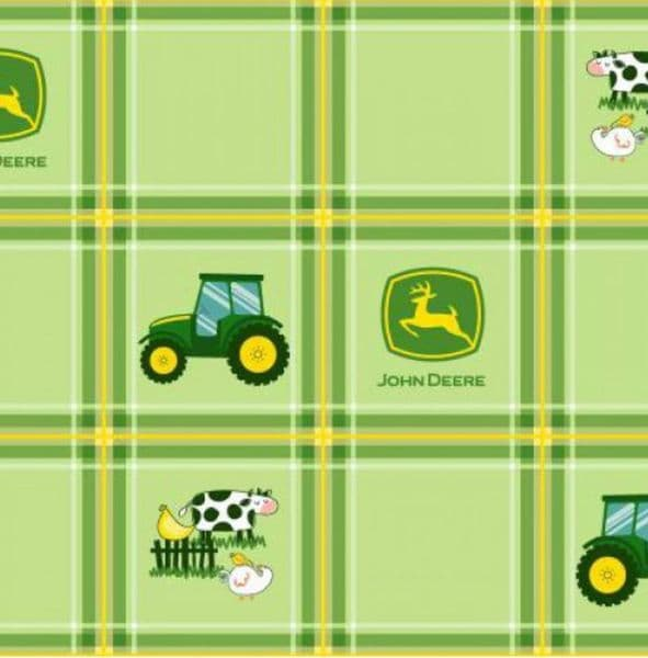 Nutex 100% Cotton Fabric John Deere Licensed Nursery 104