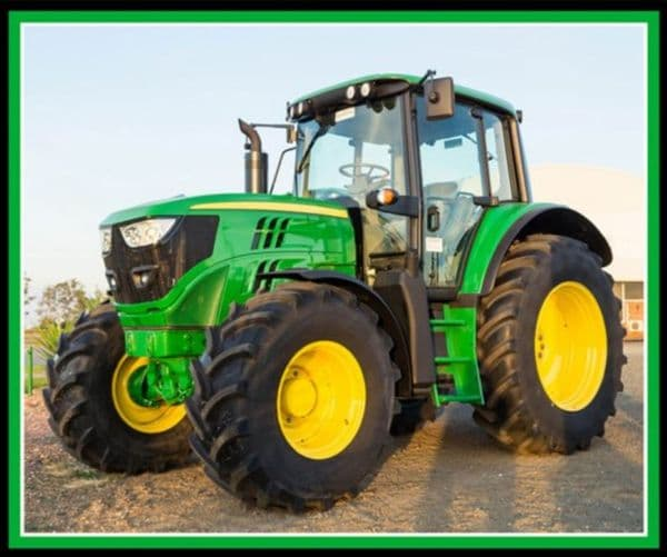 Nutex Green Tractor Farm Machines Large Panel 36