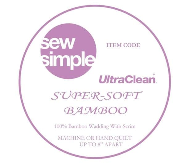 Sew Simple Super-soft Bamboo wadding 90