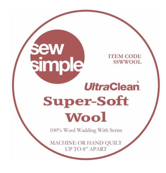 Sew Simple Super-soft Wool wadding 90