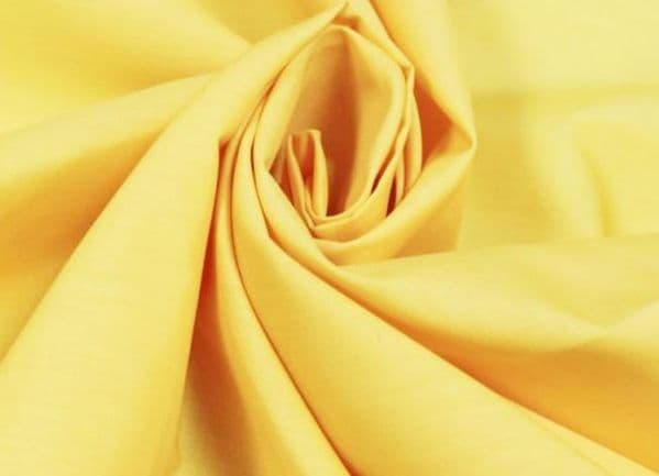 Yellow Cotton Fabric 151 cm wide