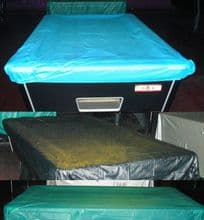 7ft fitted waterproof pool snooker billiard table cover or 6ft blue black green