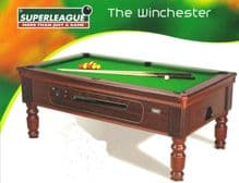 BRAND NEW 7 feet x 4 feet SUPERLEAGUE TRADITIONAL POOL TABLE SLATE BED CHAMPIONHIP QUALITY