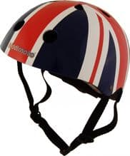 Childs Kiddimoto Helmet Kids Bike Scooter Skate BMX Stunt Cycle Small Union Jack - 371373964211