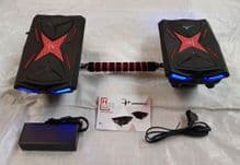 Mars Walker Hover Shoes 2x250w Drift Hoverboard Self Balancing Hovershoes+Bar - 372925312430