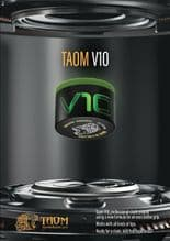 NEW V10 TAOM SNOOKER POOL CHALK, GREEN, NEW, MADE IN FINLAND ** NOW IN STOCK ** - 373707443194