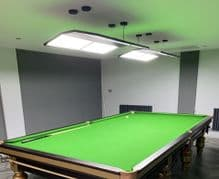 ROSETTA LED SNOOKER TABLE PROFESSIONAL TOURNAMENT STYLE LIGHT LIGHTING SHADE