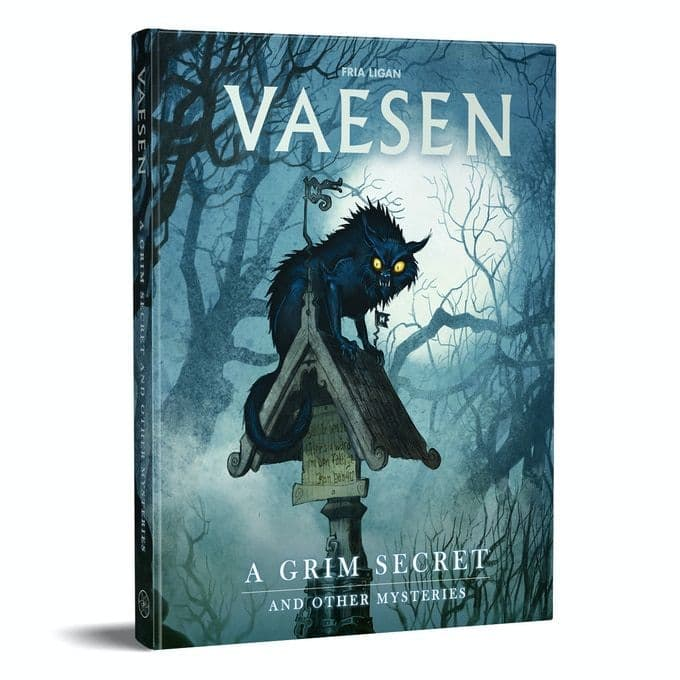 A Wicked Secret: And Other Mysteries - Vaesen RPG