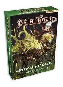 Critical Hit Card Deck: Pathfinder RPG Second Edition (P2)