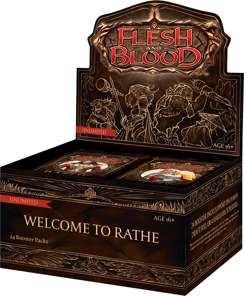 Flesh and Blood: Welcome to Rathe Unlimited Booster Box (24 Packs)
