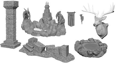 Pools & Pillars: WizKids Deep Cuts Unpainted Miniatures
