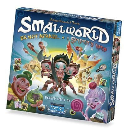Small World: Race Collection - Be Not Afraid & A Spider Web Exp