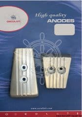 Anode Kit for Volvo SX-A/DPS-A (Aluminum)